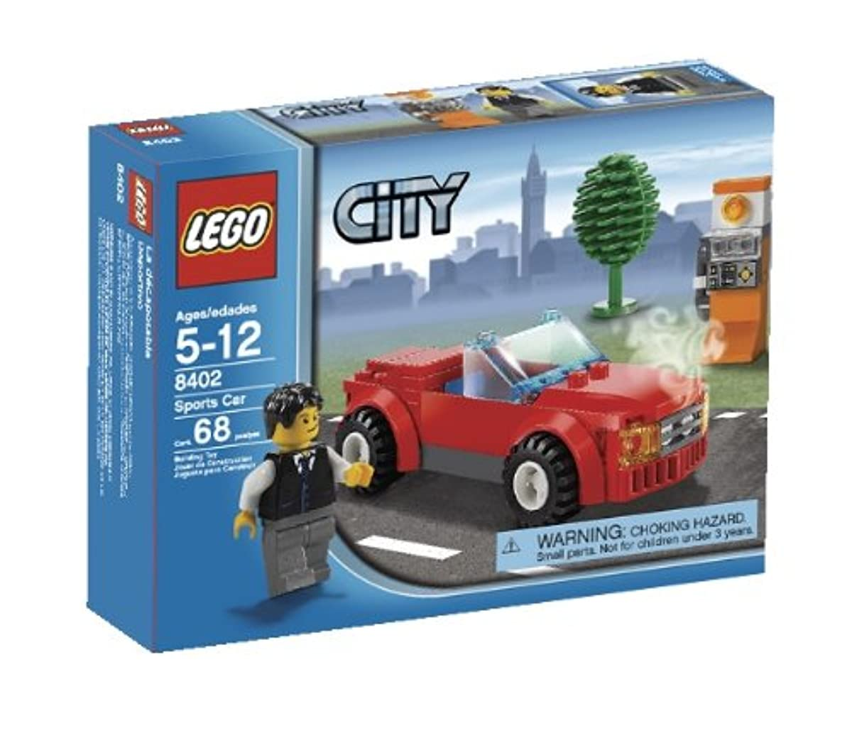 [레고 시티] LEGO City Sports Car (8402)