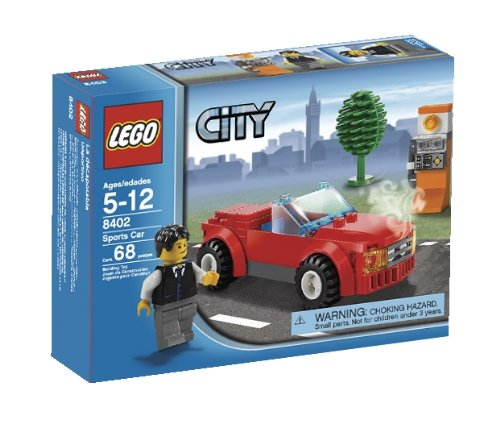 LEGO City Sports Car (8402)   B001FV000S