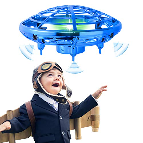Flying-Toy-Mini-Drone-for-Kid-Hand-Controlled-Flying-Ball-with-LED-Light-UFO-Helicopter-with-2-Speed-Easy-Indoor-Outdoor-Levitation-Drone-with-360-Rotating-Gift-for-Teenager-Boy-Girl