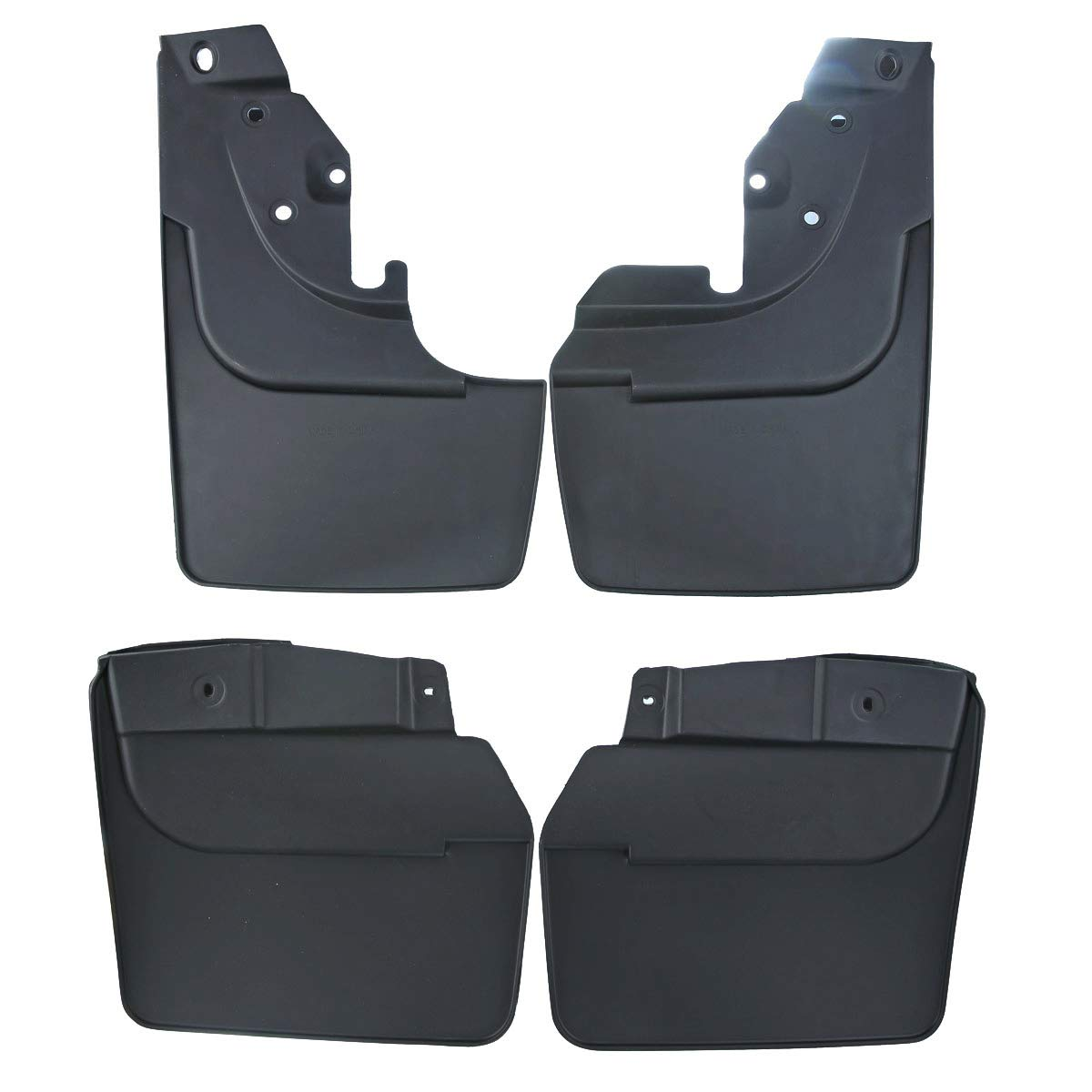 A-Premium Splash Guards Mud Flaps Mudflaps for Toyota Land/Cruiser 80 Series 1990-1997 with/Factory/Fender/Flares 4-PC Set