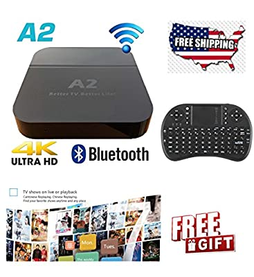 2018 A2+ 4K ULTRA HD TVBOX for Chinese/HongKong/Taiwan/Vietnam Best TVbox in the market