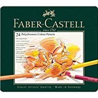 Faber-Castell Polychromos Color Pencil Set - Pack of 24