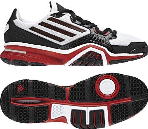 Adidas Mænds Optigon Iii Hastighed Træner Cross Training Sko Sort / Universitet Rød / Løbe Hvid bvhf5i