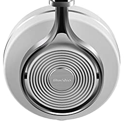 Bluedio T3 (Turbine 3rd) Extra Bass Wireless Bluetooth 4.1 Stereo Headphones (White)