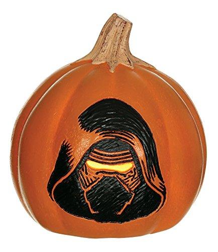 Star Wars Kylo Ren Light Up Pumpkin]()