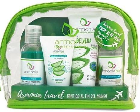 Armonia Neceser Viaje Aloe Vera - 100 gr: Amazon.es: Salud y cuidado personal