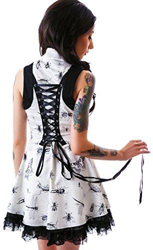 Jawbreaker Gothic Retro Rockabilly Tattoo Pinup Vintage Lolita Doll Mini Dress (XL) (Pin Up Dolls Tattoos)