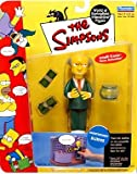 Playmates - The Simpsons - World of Springfield Interactive Figures - Series 1 - Montgomery Burns figure w/custom accessories