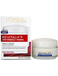 L'Oreal Paris, RevitaLift Anti-Wrinkle + Firming Night...