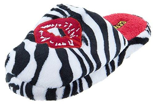 Betty Boop Women's Zebra Kiss Slippers - Shoe Betty Boop
