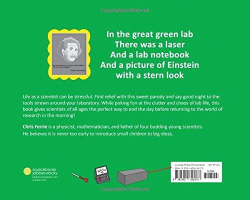 Goodnight Lab: A Scientific Parody (Baby University) by Sourcebooks Jabberwocky (Image #2)