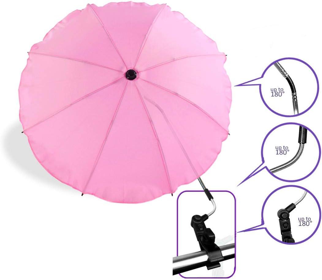 Baby Comfort Ombrelle de poussette universelle avec bras orientable