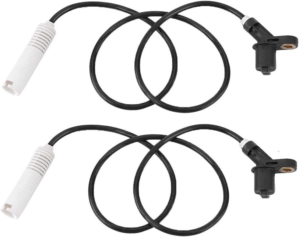2pcs ABS Sensor,34521182067 Car Rear Wheel Speed Sensor Fits for E30 E36 E46 318i 323i 325i M3