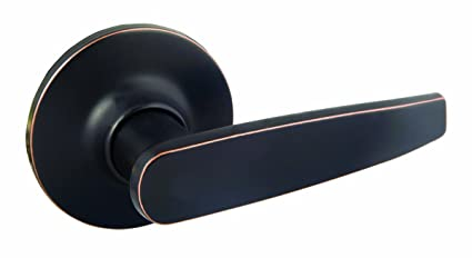 Design House 702365 Delavan Dummy Door Knob, Reversible For Left Or Right  Handed Doors,