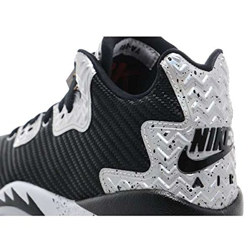 BG NIKE Basketball Low Pur Forty Platine Spike Black Jordan Rouge de Chaussures Air Homme Feu Noir Noir C1qwr1AX