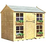 BillyOh Gingerbread Max And Bunk Childrens Wooden Playhouse 7 x 5