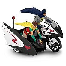 Hallmark Batman Classic TV Series Batcycle Ornament Movies & TV,Superheroes
