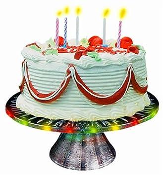 Amazoncom Happy Birthday Singing Cake Plate Toys Games