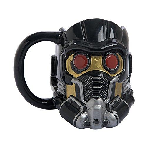 Vandor Marvel Guardians of the Galaxy Star-Lord Sculpted Ceramic Mug (Galaxy Travel Mug)