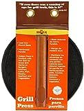 Mr. Bar-B-Q Round Cast Iron Meat Press