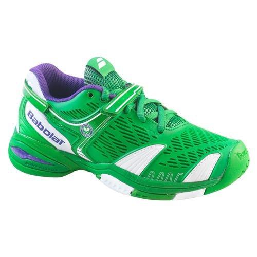 Babolat Propulse 4 All Court Junior Tennisschuhe verschiedene Farben, Farbe:grün;Schuhgröße:EUR 33.5