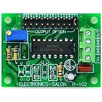 electronics-salon ajustable Square Wave de baja frecuencia oscilador