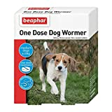 Beaphar One Dose Wormer Small Medium and Large Dogs Dog...