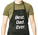 five brothers bib overalls - Funny Guy Mugs Best Dad Ever Apron, Black