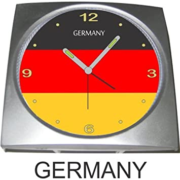 Amazon.com: Alemania Reloj despertador: Sports & Outdoors