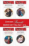 img - for Harlequin Presents March 2017 - Box Set 1 of 2: Secrets of a Billionaire's Mistress\The Innocent's Secret Baby\Pursued by the Desert Prince\The Sicilian's Defiant Virgin book / textbook / text book