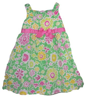 Amazon.com: Okie Dokie® Baby Girls Spring Flower Dress ...