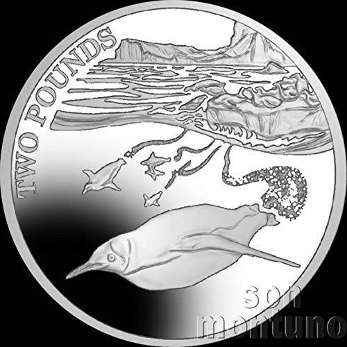 EMPEROR PENGUIN - 2016 British Antarctic Territory £2 Uncirculated Cupro Nickel Coin 2 pounds