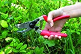 Felco Pruning Shears (F 7) - High Performance Swiss Made One-Hand Garden Pruners