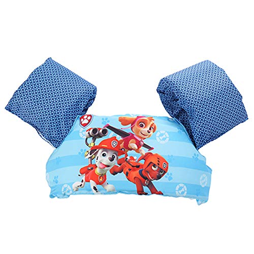 APSZST Toddler Learn to Swim Life Jacket, , Kids Swim Vest, for Baby, Kid and Children to Swim Safely 30-50 lbs (Red Dogs-3)