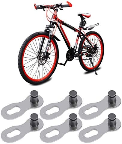 10x Useful Chain Connector Black Link Joint for Bicycle Mountain Bike M WSW
