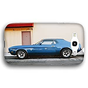 1975 Ford Mustang Fastback Classic Car For Iphone 5/5S Case Cover lim Phone