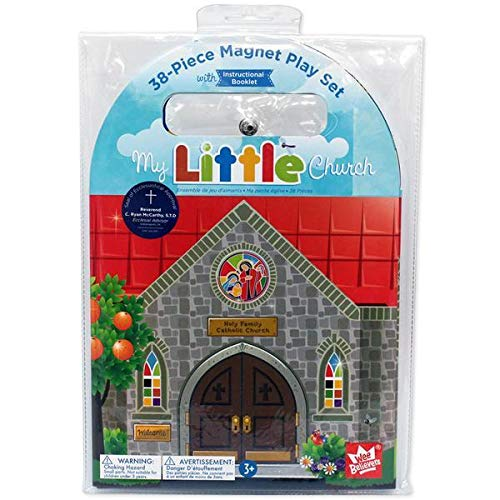 Wee Believers My Little Church 38 Piece Magnet Book Play Set