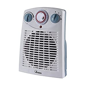 Ardes AR449TI Termoventilatore TEPO TIME con Timer 24 h 2 Potenze con Termostato E Led On/Off 2 spesavip