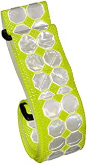 """product image for Cyalume 9-3012509Y Cyflect PT Belt with Velcro Swatch, 1 Patch, 5.5' Length x 2"""" Width, Yellow"""