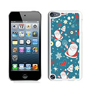 Individualization Santa Claus Black For Ipod Touch 5 Cover 23