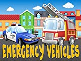 First Words / Emergency Vehicles Video Book For Kids