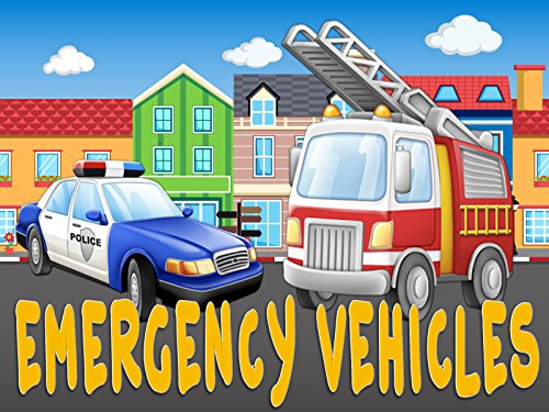 First Words/Emergency Vehicles Video Book For Kids ()