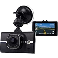 "SMALL-EYE Dash Cam, On Dash Video Car Driving Video Recorder Camera with Full HD 1296P, 170 Degree Wide Angle, 3"" LCD Screen, G-Sensor, WDR, Loop Recording, Night Vision"