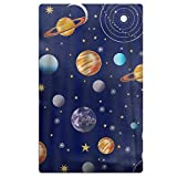 LOIOI67 Navy Planets Solar System Microfiber Quick Dry Beach Towel Bath Towel Pool Towel Perfect for Boys Girls