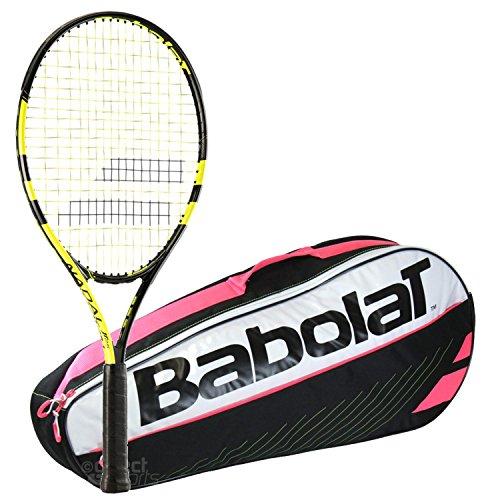 Babolat Nadal Junior 26 Inch Child's Tennis Racquet bundl...