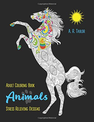 Pdf History Animals: Adult Coloring Book Stress Relieving Designs
