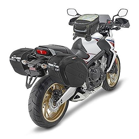 Alforjas set Yamaha MT-03 06-14 Givi EA100B 40 litro: Amazon.es: Coche y moto