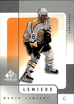 2000-01 SP Game Used Pittsburgh Penguins Team Set 2 Cards Mario LeMieux Jagr