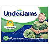 Pampers UnderJams Disposable Bedtime Underwear for Boys Size L/XL, 42 Count, SUPER