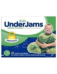 Pampers UnderJams Bedtime Underwear Boys SizeLarge/X-Large, 4...